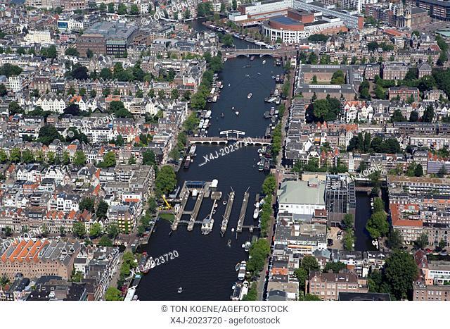Centre of amsterdam, Netherlands