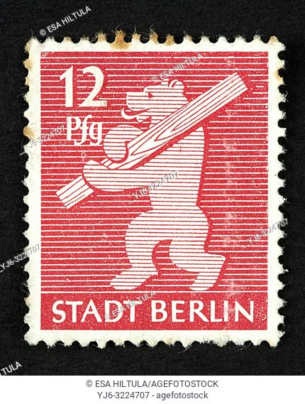 German postage stamp