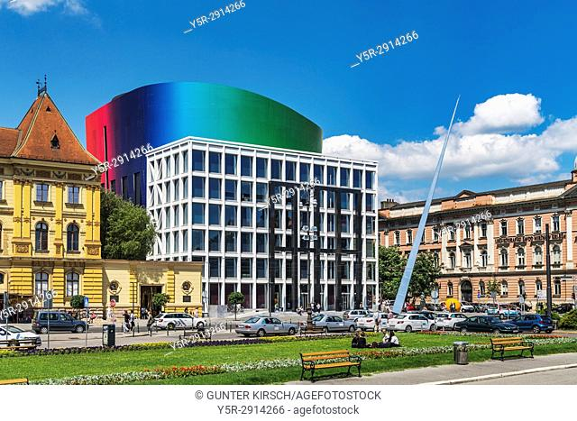 The new building of the Music Academy of Zagreb was designed by the Croatian architect Milan Sosteric. It is located on the Marshal Tito square in the city...