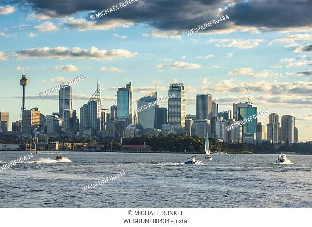 Australia, New South Wales, Sydney, Skyline