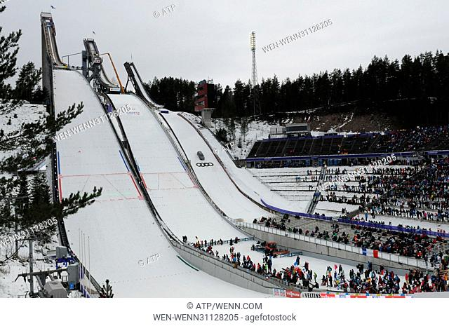 Lahti2017 FIS Nordic World Ski Championships in Lahti, Finland Featuring: Atmosphere Where: Lahti, Finland When: 01 Mar 2017 Credit: ATP/WENN.com
