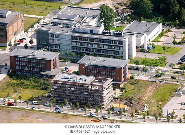 Aerial photo, Phoenix-West, MST.Factory Dortmund, Technology Centre, Dortmund, Ruhr area, North Rhine-Westphalia, Germany, Europe