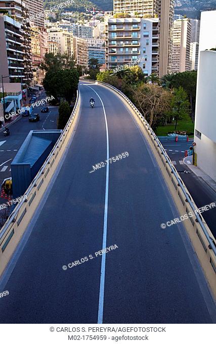 Boulevard du Larvotto, Principality of Monaco, Europe