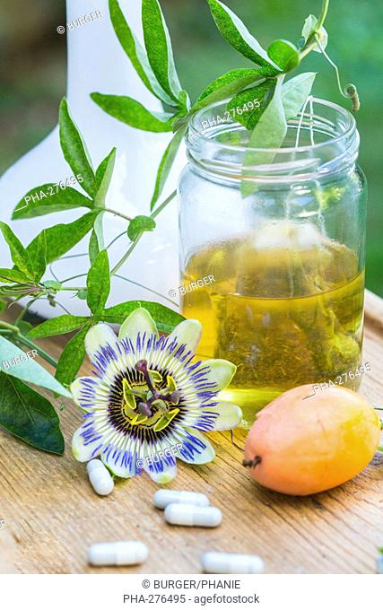 Essential oil of passiflora