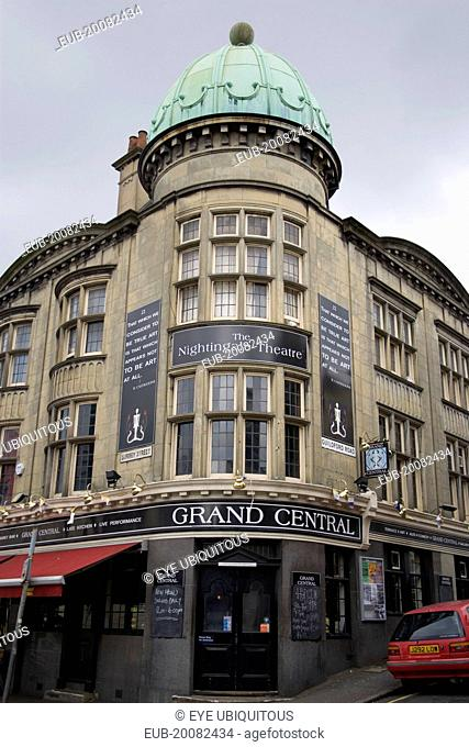 Grand Central bar and Nightingale theatre, next to the railway station
