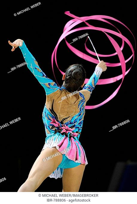 RSG, rhythmic gymnastics, gymnast Evgeniya KANAEVA, Russia
