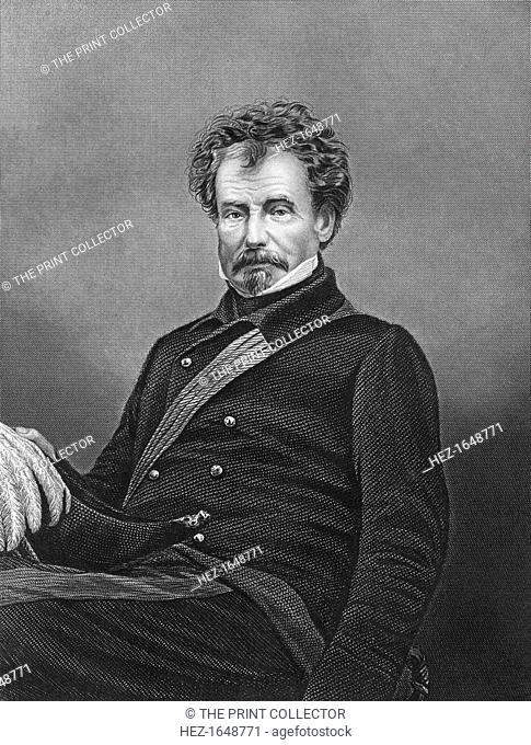 Sir Colin Campbell, Commander in Chief of the forces of India, c1860. Field Marshal Sir Colin Campbell, 1st Baron Clyde (1792-1863), Scottish soldier