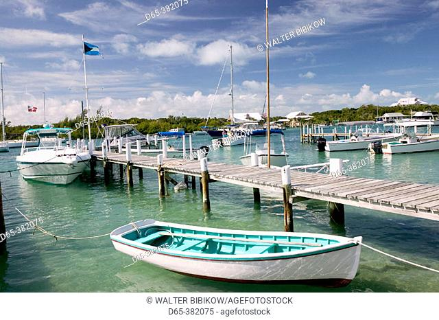 Bahamas, Abacos, 'Loyalist Cays , Elbow Cay', Elbow Cay, Hope Town: Albury's Harbour Store