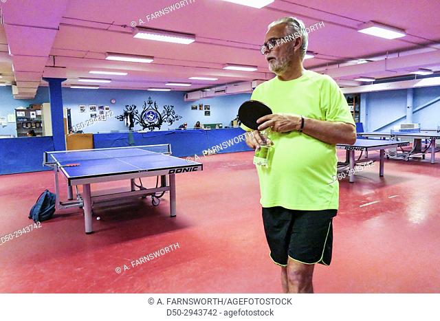 STOCKHOLM, SWEDEN Spårvägen ping pong club hosts weekly ping pong get together for people with Parkinsons as a way of keeping them active