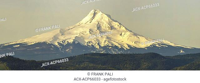 Mount Hood, taken from Hood river view point, Oregon, United States of America