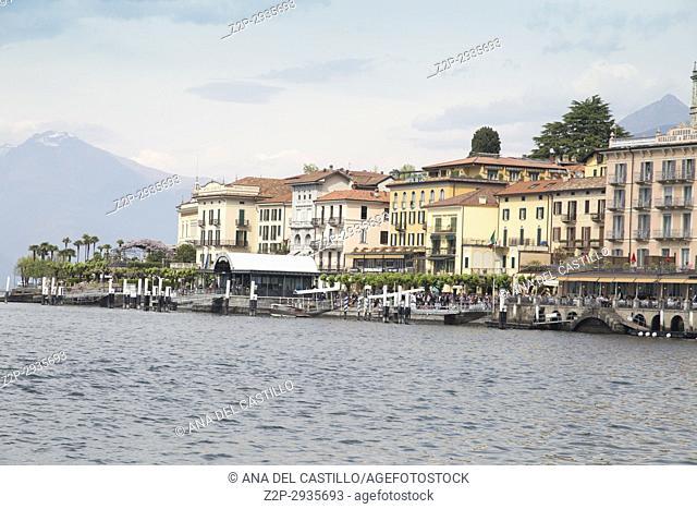 Bellaggio in Lago di Como lake in Lombardy Italy