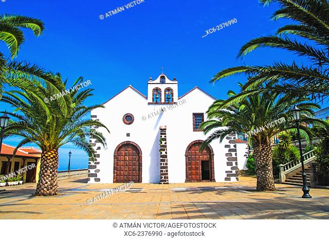 church of Santo Domingo municipality, La Palma island . Canary islands . Spain