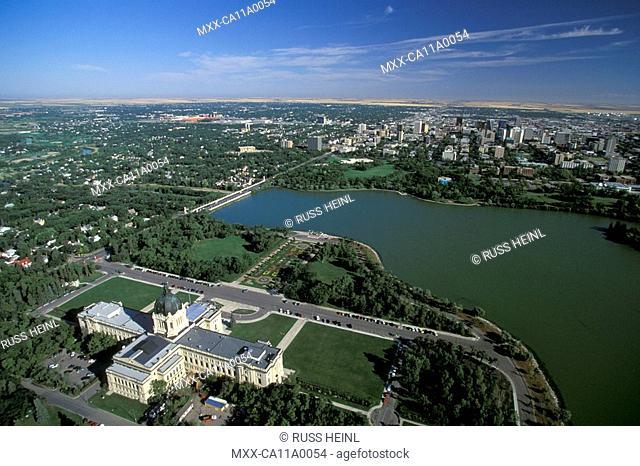 Aerial, Regina, Saskatchewan, Canada