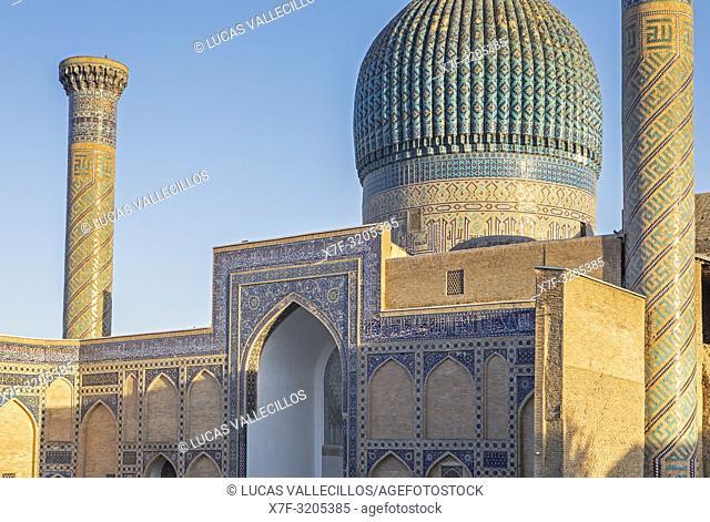 Gur-e Amir mausoleum, Samarkand, Uzbekistan