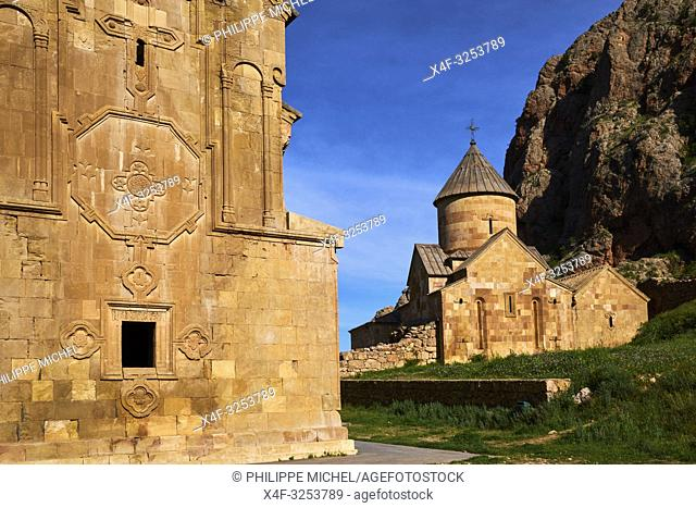 Armenie, province de Vayots Dzor, monastère de Novarank / Armenia, Vayots Dzor province, Novarank monastery