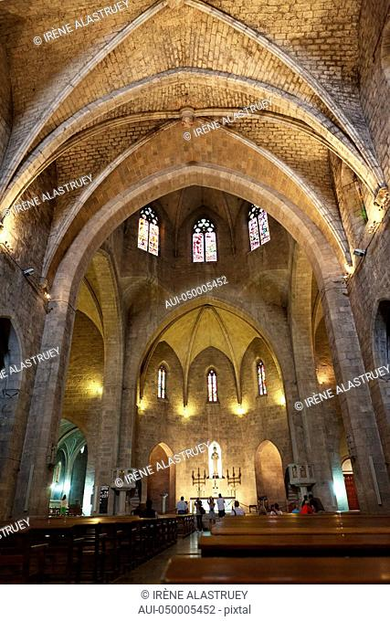 Spain - Costa Brava - Figueres - Parish church of St. PeterChurch of St. Peter