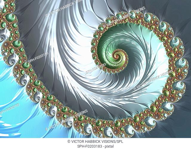 Fractal, illustration