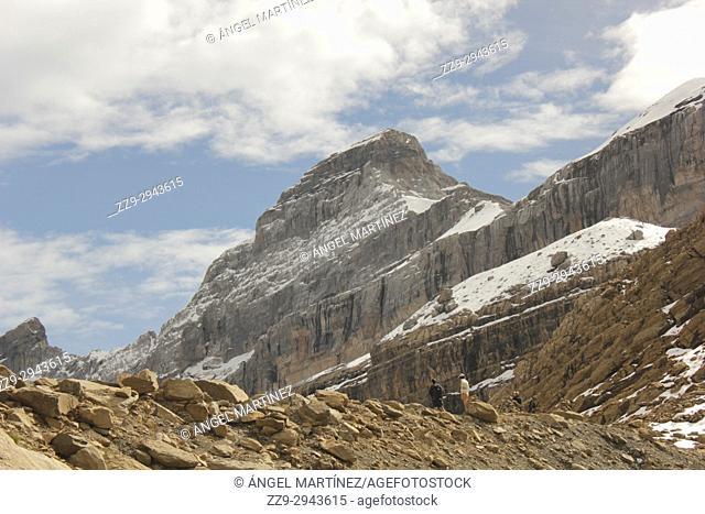 climb to the Monte Perdido, Spain