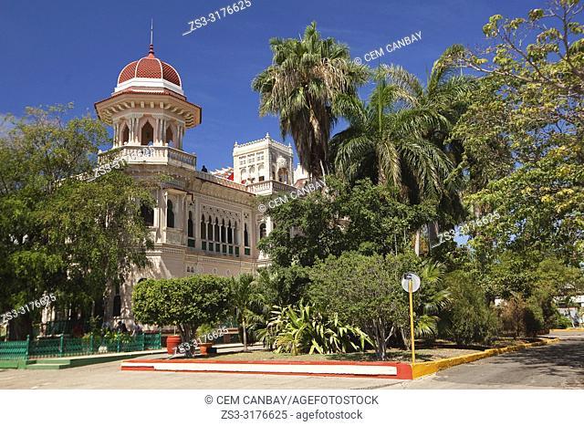 View to the Palacio De Valle -Valle's Palace In Punta Gorda district, Cienfuegos, Cuba, Central America