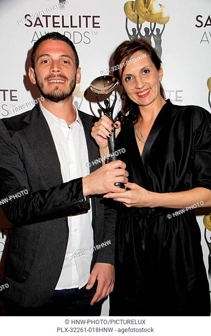 Nebojsa Glisic, Ivana Antic 02/23/2014 The 18th Annual Satellite Awards held at the InterContinental Hotel in Los Angeles