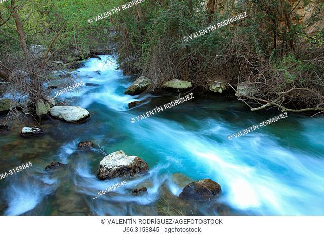Closed of the Castril river. Sierra Castril natural park. Granada