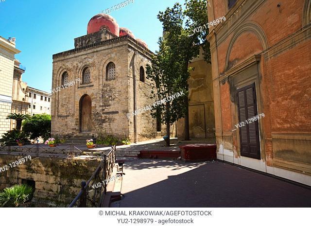 San Cataldo's Church in Palermo on Piazza Bellini Sicily, Italy