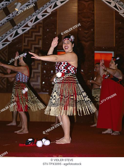 Dance, Holiday, Landmark, Maori, Maoris, Model, New zealand, North island, Performing, Release, Rotorua, Tourism, Traditional co