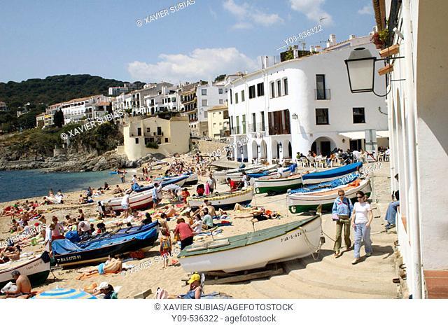 Calella de Palafrugell. Girona province. Spain