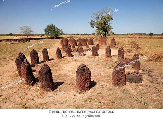 Wassu stone circles, world cultural heritage, The Gambia