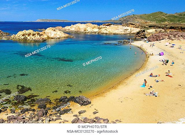 beach at Cala Pregonda