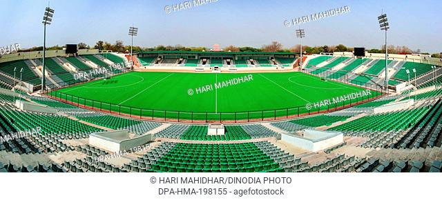 Dhyanchand hockey stadium, delhi, india, asia