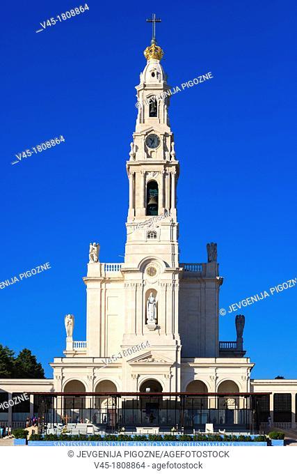 The Basilica of Our Lady of the Rosary, Santuario de Fatima, Fatima Shrine, Sanctuary of Our Lady of Fatima, Fatima, Ourem, Santarem, Portugal