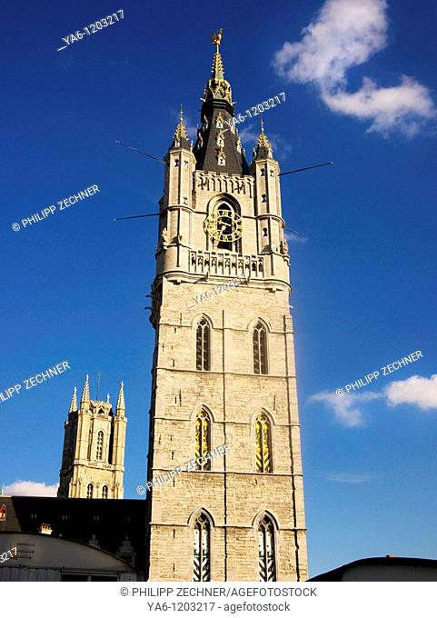 Sint-Baafs Cathedral and Belfort, Gent