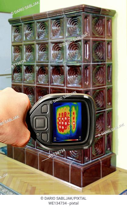 Heat Loss Detection of Old Tiled Stove