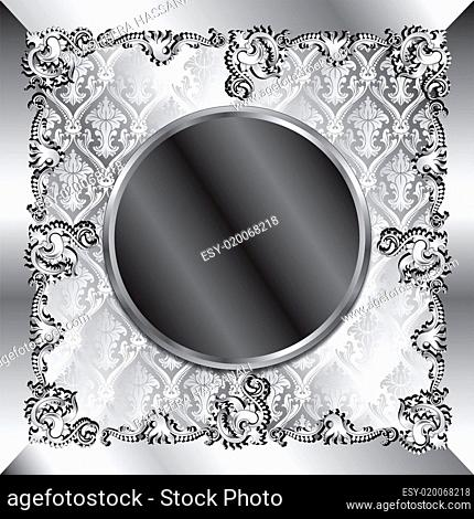 Wedding Silver Background