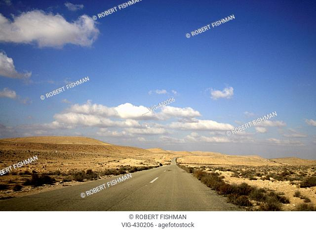 ISRAEL, EILAT, 25.11.2006, Desert of Negev. - EILAT, Israel, ISRAEL, 25/11/2006