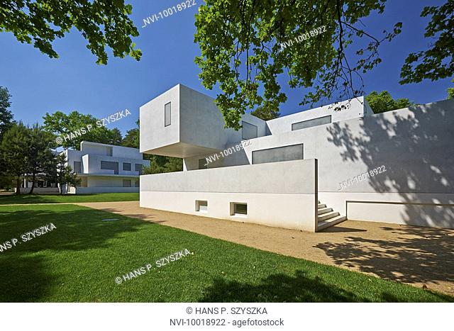 House Moholy-Nagy and Gropius, Masters Houses in Dessau, Saxony-Anhalt, Germany, Europe