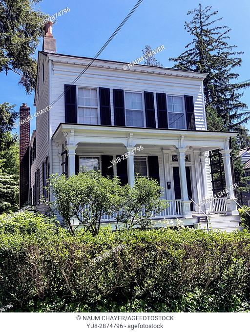 The Albert Einstein House- National Register of Historic Places , Princeton, New Jersey, USA