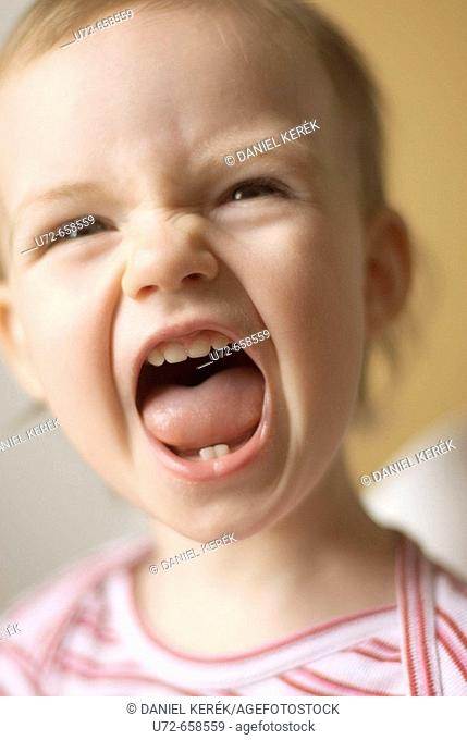 Little Girl Shouting