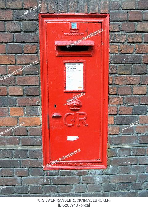 Letter box Cambridge UK