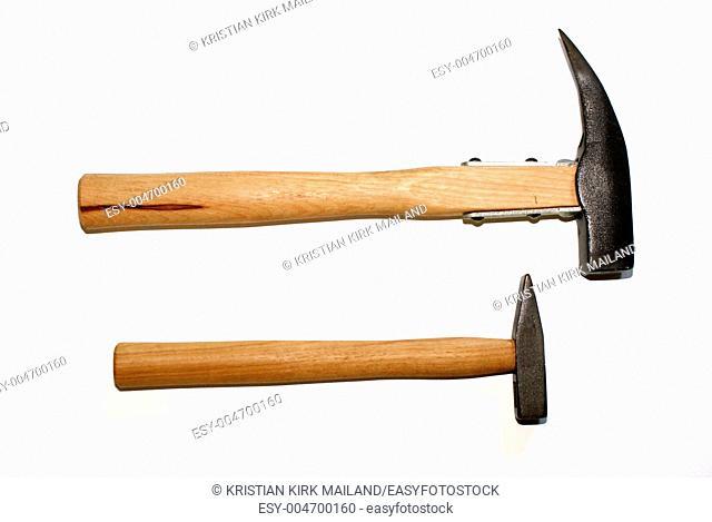 Small og big - hammers