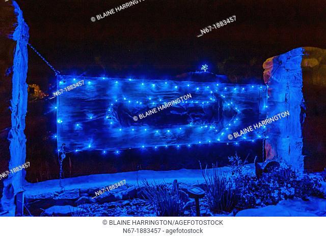 La Posada Milagro Guest house, Terlingua Ghosttown, Texas USA