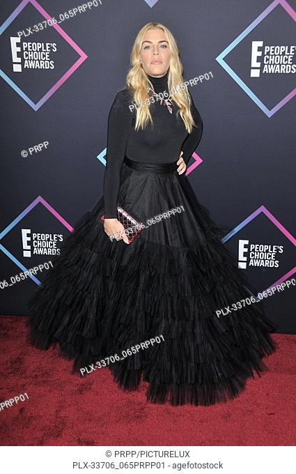 Busy Philipps at E! People's Choice Awards held at the Barker Hangar in Santa Monica, CA on Sunday, November 11, 2018. Photo by PRPP / PictureLux