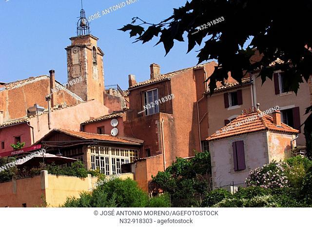 Roussillon. Provence. Vaucluse, Provence-Alpes-Côte d'Azur, France