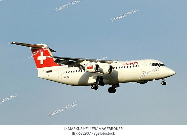Avro Regional Jet RJ 100 from the Swiss International Air Lines AG