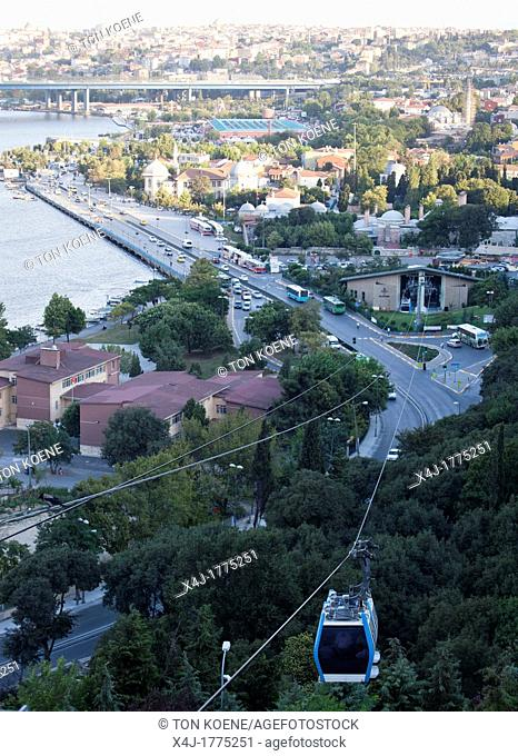 Pierre Loti cable car in istanbul