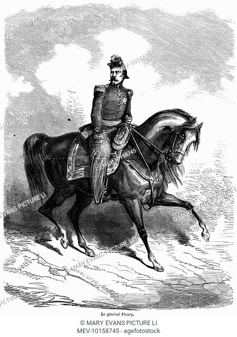 EMILE-FELIX, comte FLEURY French military commander