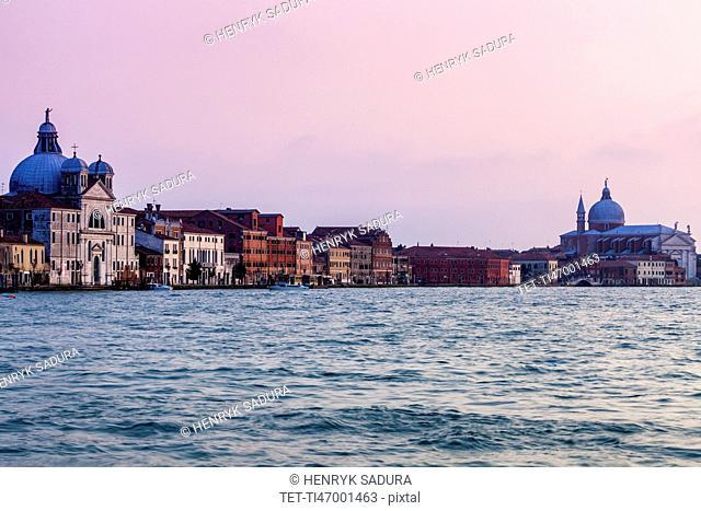 Santissimo Redentore and SMaria della Presentazione Churches in Venice Venice, Veneto, Italy