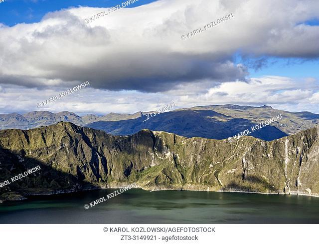 Lake Quilotoa, Cotopaxi Province, Ecuador