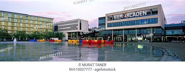 Riem Arcaden Shopping Mall, Munich, Bavaria, Germany